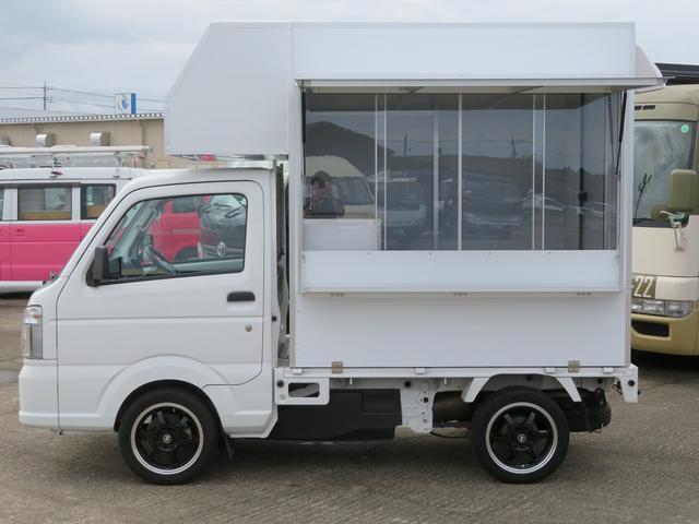 平成28年 スズキ キャリイトラック 移動販売車 ケータリングカー 新規架装ベース 入庫しました☆