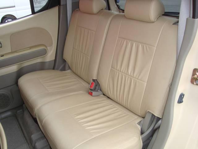 スズキ MRワゴン X スマートキー レザー調シートカバー オートエアコン