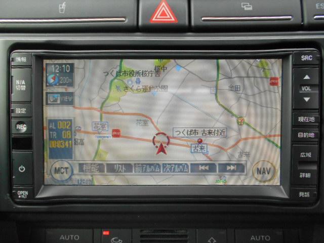 アウディ アウディ A4アバント 2.0 ワンオーナー 純正HDDナビ