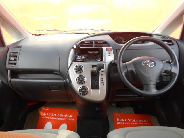 トヨタ ラクティス 1.3Xウェルキャブ車いす仕様Iリヤシート付