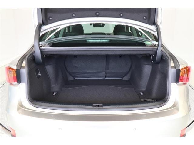 IS300h ワンオーナー車 サンルーフ 本革パワーシート メーカー装着ナビ ETC 純正アルミ(15枚目)