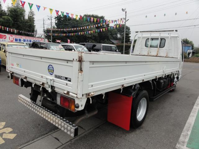 いすゞ エルフトラック 平ボディー高床2t積