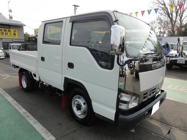いすゞ エルフトラック Wキャブ ETC 積載1.75t NOX.PM適合