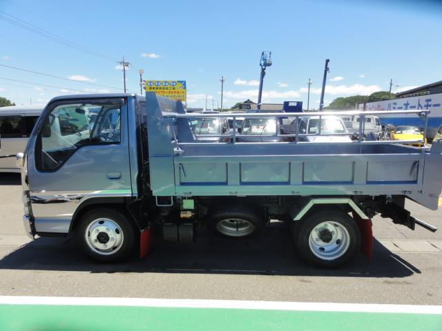 いすゞ エルフトラック 花見台ローダーダンプ3t積 コボレーン