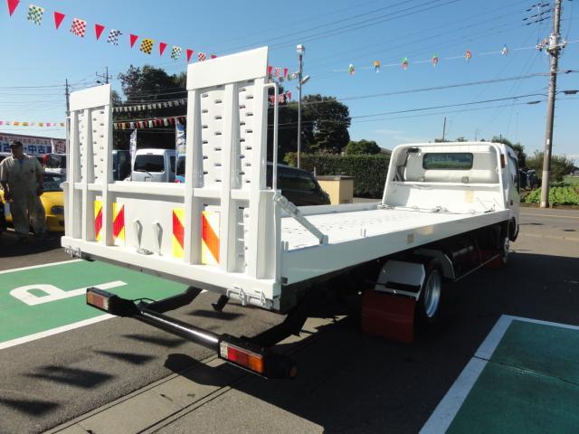 日野 デュトロ フラトップ積載車