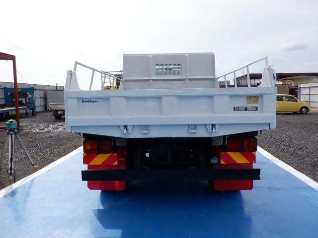 ダンプ 荷台鉄板  積載3.7t(5枚目)