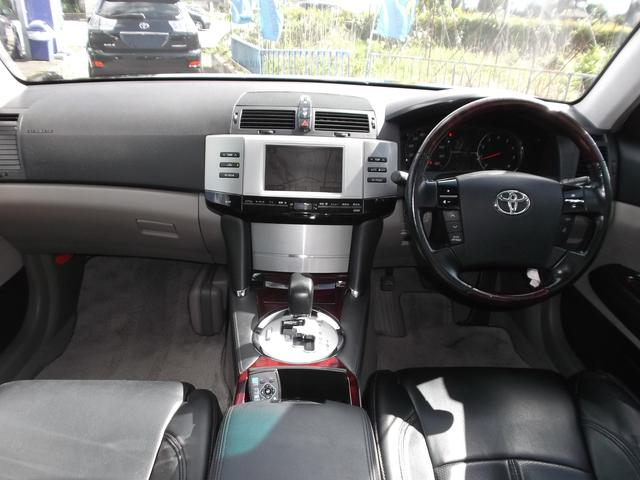 トヨタ マークX 300G 19インチAW ローダウン バックモニタ HID