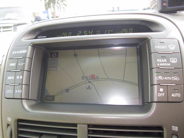 トヨタ セルシオ A仕様 eRバージョン 革シート サンルーフ マルチナビ