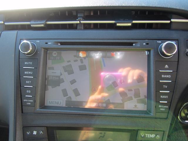 トヨタ プリウス S 社外17インチAW 社外エアロ 車内灯LED キセノン