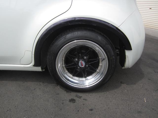 15G TENI車高調ガラスルーフ禁煙車15インチアルミフロントリップシートカバー純正HDDナビ地デジ フルセグ(10枚目)