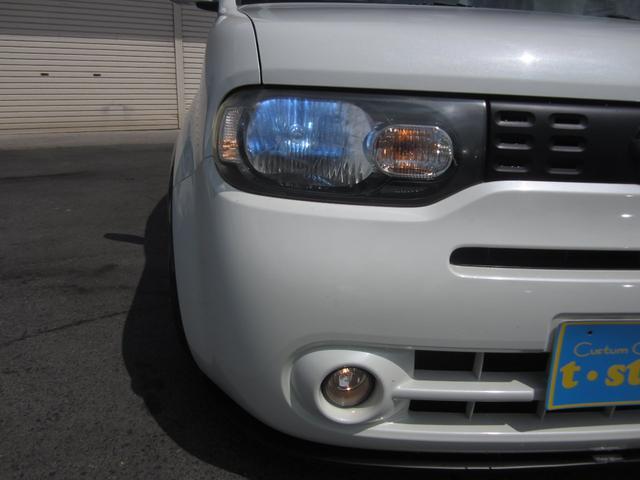 15G TENI車高調ガラスルーフ禁煙車15インチアルミフロントリップシートカバー純正HDDナビ地デジ フルセグ(21枚目)