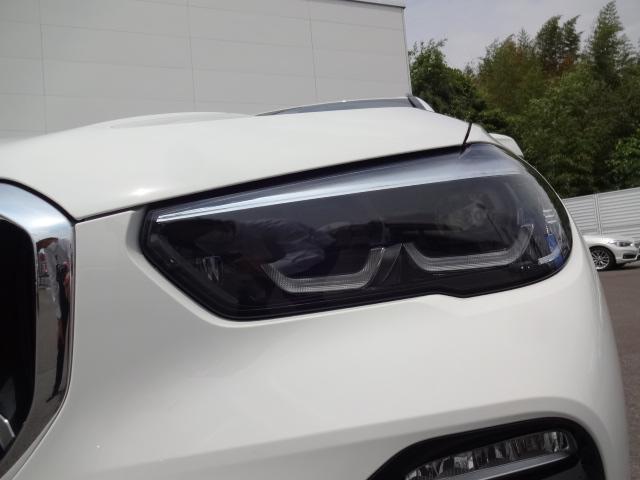 xDrive 35d Mスポーツ HDDナビ エアサスペンション アクティブステアリング パノラマサンルーフ 3列シート Bカメラ レザーシート ACC ステアリングアシスト ヘッドアップディスプレイ 純正21インチホイル(4枚目)
