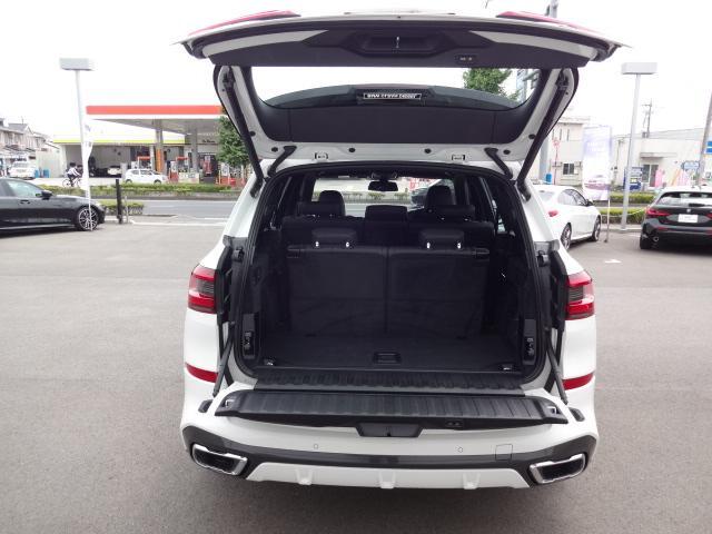 xDrive 35d Mスポーツ HDDナビ エアサスペンション アクティブステアリング パノラマサンルーフ 3列シート Bカメラ レザーシート ACC ステアリングアシスト ヘッドアップディスプレイ 純正21インチホイル(66枚目)