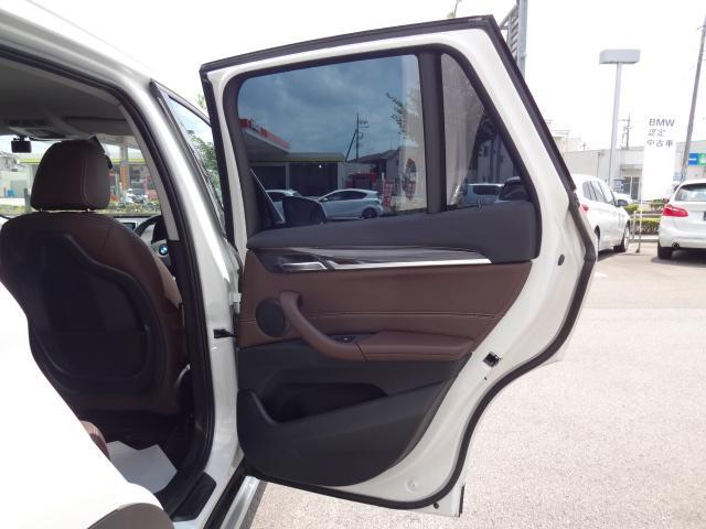 xDrive 18d xライン HDDナビ レザーシート 電動シート 追突軽減ブレーキ シートヒーター Bカメラ コンフォートアクセス オートマチックテールゲート ETC bluetooth  前後PDC 純正18インチホイル(19枚目)