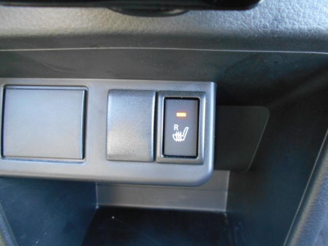 ★運転席シートヒーター付★冬の朝方や夜乗られる時にはもってこいの装備です。約20秒くらいで腰あたりからジワーッと温かくなります!