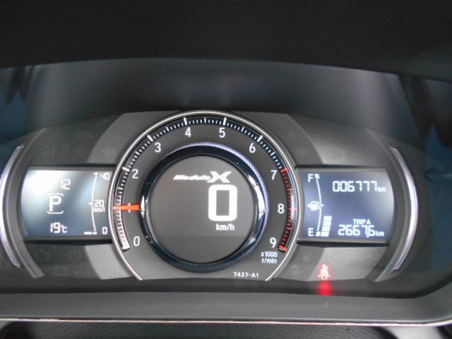 モデューロX シティーブレーキアクティブシステム 純正スカイサウンドナビ スカイサウンドスピーカー バックカメラ Modulo X専用装備 専用サスペンション5段階減衰力調整機構付 アクティブスポイラー LED オートデイナイトミラー ワンオーナー(54枚目)
