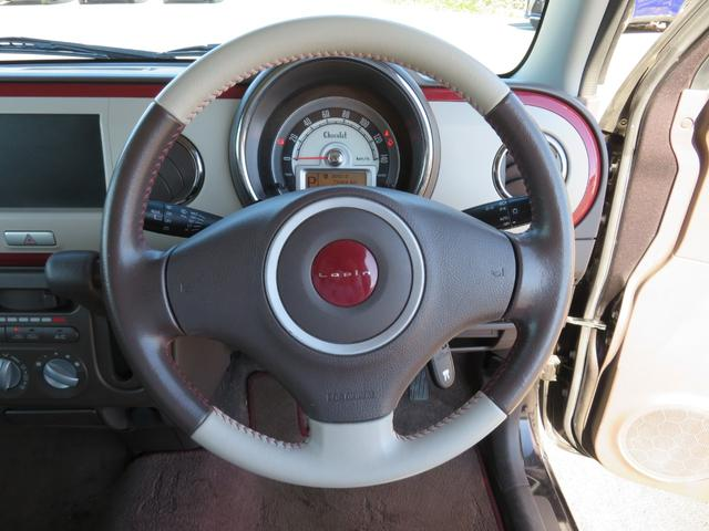 ショコラG アイドリングストップ HIDヘッドライト オートライト キーフリー 車検整備付 14インチ純正アルミホイール ショコラ専用レザーシート(16枚目)