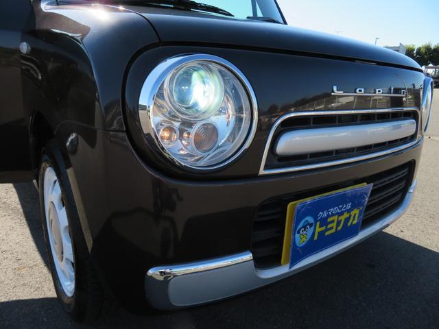 ショコラG アイドリングストップ HIDヘッドライト オートライト キーフリー 車検整備付 14インチ純正アルミホイール ショコラ専用レザーシート(20枚目)