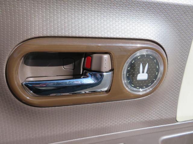 ショコラG アイドリングストップ HIDヘッドライト オートライト キーフリー 車検整備付 14インチ純正アルミホイール ショコラ専用レザーシート(40枚目)