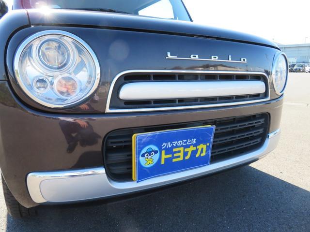 ショコラG アイドリングストップ HIDヘッドライト オートライト キーフリー 車検整備付 14インチ純正アルミホイール ショコラ専用レザーシート(42枚目)