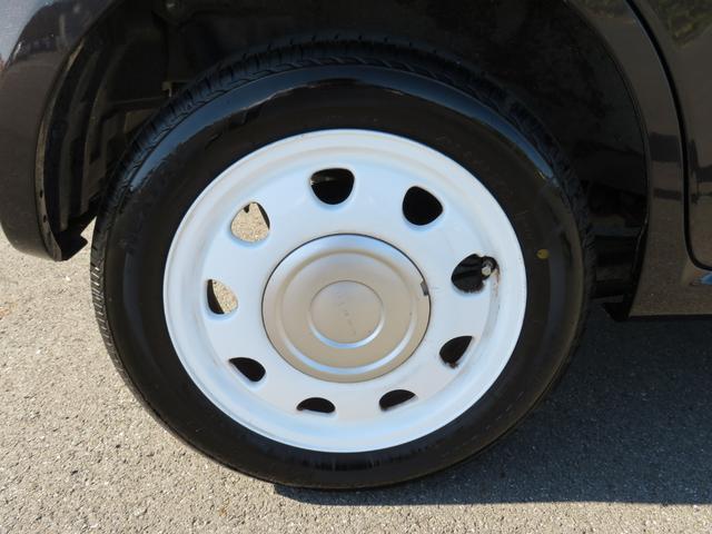 ショコラG アイドリングストップ HIDヘッドライト オートライト キーフリー 車検整備付 14インチ純正アルミホイール ショコラ専用レザーシート(43枚目)