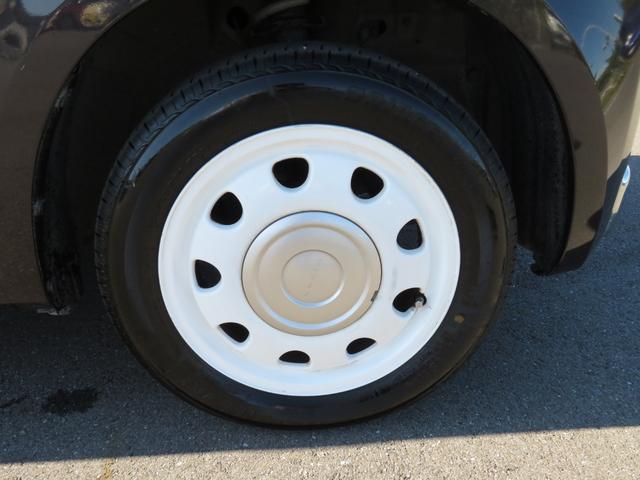 ショコラG アイドリングストップ HIDヘッドライト オートライト キーフリー 車検整備付 14インチ純正アルミホイール ショコラ専用レザーシート(44枚目)
