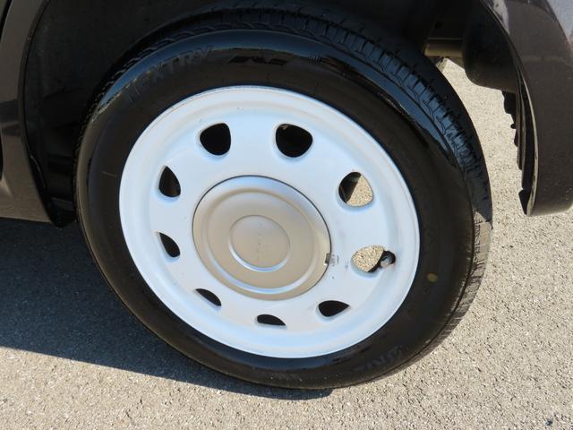 ショコラG アイドリングストップ HIDヘッドライト オートライト キーフリー 車検整備付 14インチ純正アルミホイール ショコラ専用レザーシート(46枚目)
