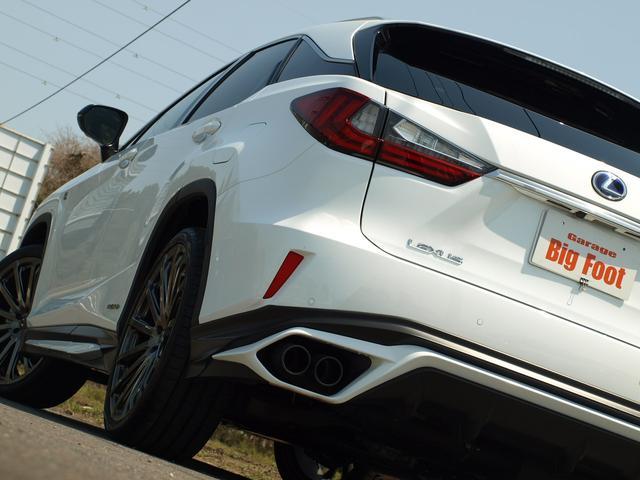 レクサス RX RX450h Fスポーツ TRD22エアロ マフラ マクレビ
