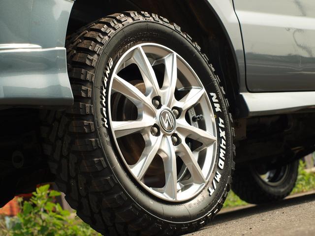 スズキ エブリイワゴン PZターボ 4WD リフトUP車検対応  MTタイヤ Pスラ