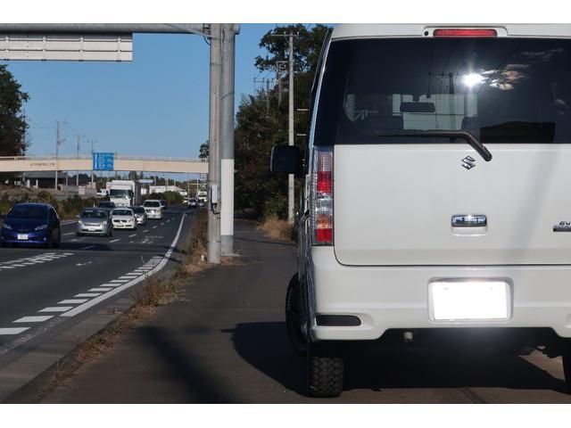 スズキ エブリイワゴン PZターボスペシャル リフトアップ車検対応 MTタイヤ