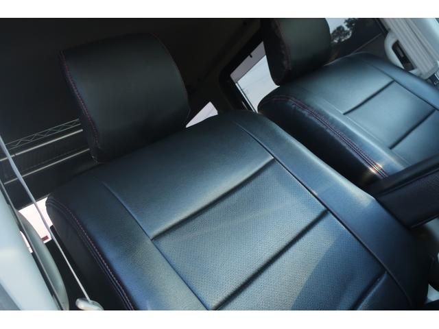 PZターボスペシャル ハイルーフ 4WD 両側電動スライド オートステップ レーダーブレーキサポート シートヒーター スマートキー 本革調シートカバー SDナビ フルセグ DVD再生 Bluetooth Bカメラ ETC(13枚目)