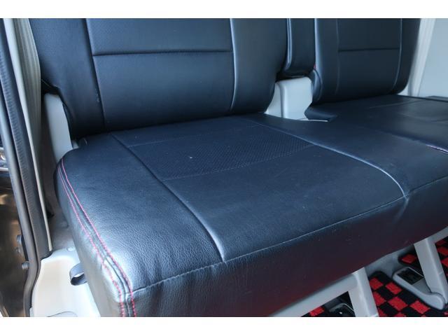 PZターボスペシャル ハイルーフ 4WD 両側電動スライド オートステップ レーダーブレーキサポート シートヒーター スマートキー 本革調シートカバー SDナビ フルセグ DVD再生 Bluetooth Bカメラ ETC(19枚目)