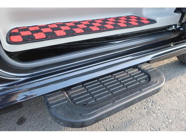 PZターボスペシャル ハイルーフ 4WD 両側電動スライド オートステップ レーダーブレーキサポート シートヒーター スマートキー 本革調シートカバー SDナビ フルセグ DVD再生 Bluetooth Bカメラ ETC(26枚目)