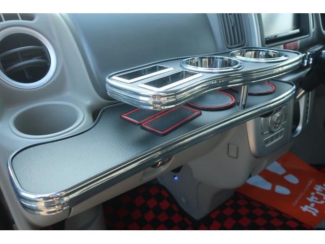 PZターボスペシャル ハイルーフ 4WD 両側電動スライド オートステップ レーダーブレーキサポート シートヒーター スマートキー 本革調シートカバー SDナビ フルセグ DVD再生 Bluetooth Bカメラ ETC(31枚目)