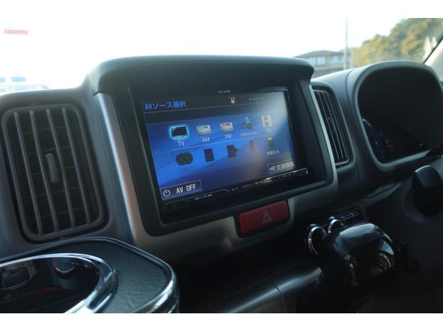 PZターボスペシャル ハイルーフ 4WD 両側電動スライド オートステップ レーダーブレーキサポート シートヒーター スマートキー 本革調シートカバー SDナビ フルセグ DVD再生 Bluetooth Bカメラ ETC(34枚目)