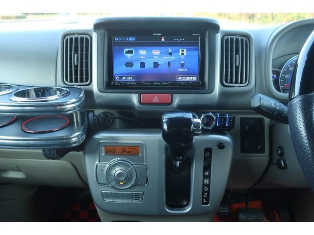 PZターボスペシャル ハイルーフ 4WD 両側電動スライド オートステップ レーダーブレーキサポート シートヒーター スマートキー 本革調シートカバー SDナビ フルセグ DVD再生 Bluetooth Bカメラ ETC(35枚目)