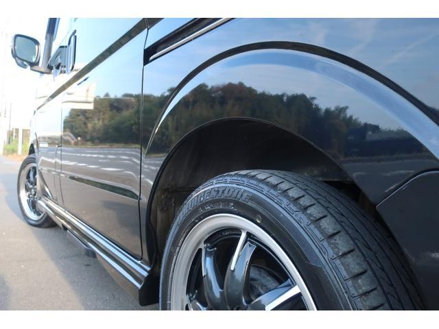 PZターボスペシャル ハイルーフ 4WD 両側電動スライド オートステップ レーダーブレーキサポート シートヒーター スマートキー 本革調シートカバー SDナビ フルセグ DVD再生 Bluetooth Bカメラ ETC(68枚目)