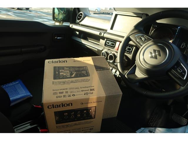 XC 新品クラリオンナビ フルセグ バックカメラ ドラレコ ETC スズキセーフティサポート LEDヘッドライト オートライト レーンアシスト クルーズコントロール スマートキー  ダウンヒルアシスト(40枚目)
