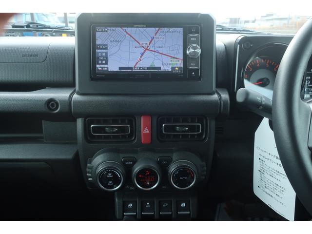 XC リフトアップ スズキセーフティサポート 純正16インチAW MTタイヤ 社外SDナビ 地デジ ETC オートライト LEDヘッドライト  レーンアシスト  クルーズクルーズコントロール(10枚目)
