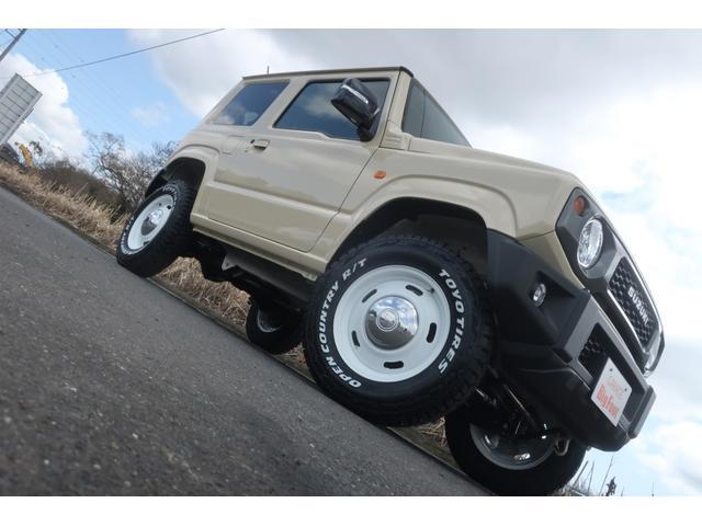 XC 4WD リフトアップ 新品16inホイール 新品オープンカントリータイヤ 社外フロントグリル レーンアシスト ダウンヒルアシスト クルーズコントロール LEDヘッドライト オートライト シートヒーター(5枚目)