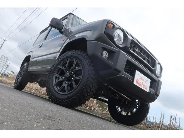 XL 5速マニュアル リフトアップ カスタムグリル 社外マフラー 新品16インチアルミホイール 新品ジオランダーM/Tタイヤ CDオーディオ ETC スマートキー  シートヒーター ヒーテッドドアミラー(5枚目)