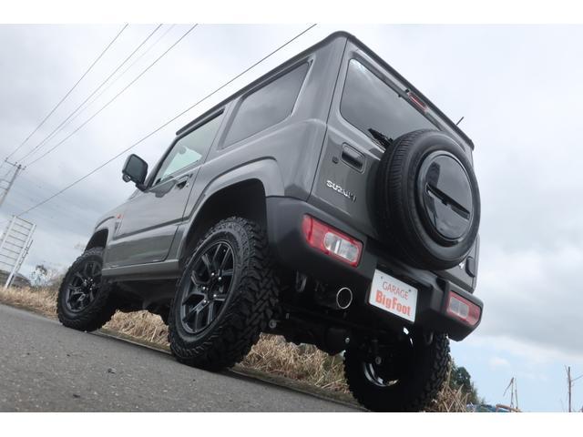 XL 5速マニュアル リフトアップ カスタムグリル 社外マフラー 新品16インチアルミホイール 新品ジオランダーM/Tタイヤ CDオーディオ ETC スマートキー  シートヒーター ヒーテッドドアミラー(6枚目)