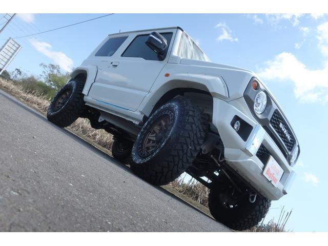 XC 4WD リフトアップ オーバーフェンダー 社外足回り一式 バンパーボディー同色塗装 社外16INアルミ 社外MTタイヤ 社外アンドロイドナビ ETC Bluetooth 背面タイヤハードカバー(5枚目)