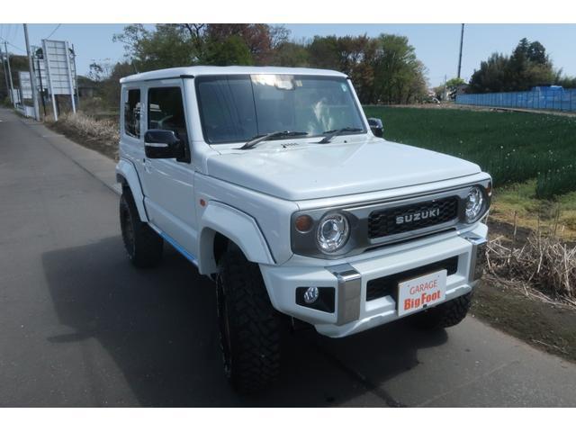 XC 4WD リフトアップ オーバーフェンダー 社外足回り一式 バンパーボディー同色塗装 社外16INアルミ 社外MTタイヤ 社外アンドロイドナビ ETC Bluetooth 背面タイヤハードカバー(52枚目)