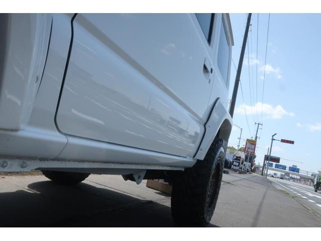 XC 4WD リフトアップ オーバーフェンダー 社外足回り一式 バンパーボディー同色塗装 社外16INアルミ 社外MTタイヤ 社外アンドロイドナビ ETC Bluetooth 背面タイヤハードカバー(67枚目)