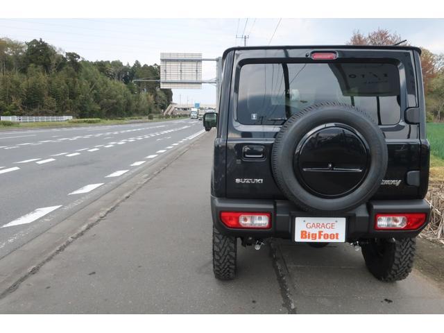 XC 届出済未使用車 リフトアップ カスタムグリル 新品16インチアルミホイール 新品ジオランダーM/Tタイヤ LEDヘッドライト ヘッドライトウォッシャー クルーズコントロール スズキセーフティサポート(4枚目)