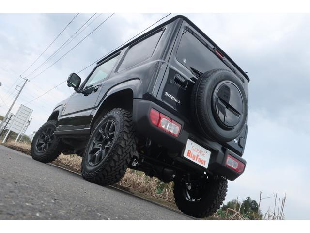 XC 届出済未使用車 リフトアップ カスタムグリル 新品16インチアルミホイール 新品ジオランダーM/Tタイヤ LEDヘッドライト ヘッドライトウォッシャー クルーズコントロール スズキセーフティサポート(6枚目)