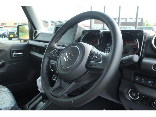 XC 届出済未使用車 リフトアップ カスタムグリル 新品16インチアルミホイール 新品ジオランダーM/Tタイヤ LEDヘッドライト ヘッドライトウォッシャー クルーズコントロール スズキセーフティサポート(9枚目)