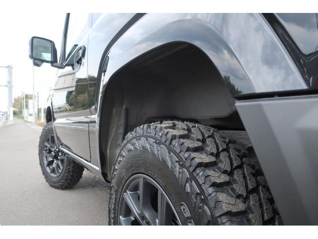 XC 届出済未使用車 リフトアップ カスタムグリル 新品16インチアルミホイール 新品ジオランダーM/Tタイヤ LEDヘッドライト ヘッドライトウォッシャー クルーズコントロール スズキセーフティサポート(72枚目)