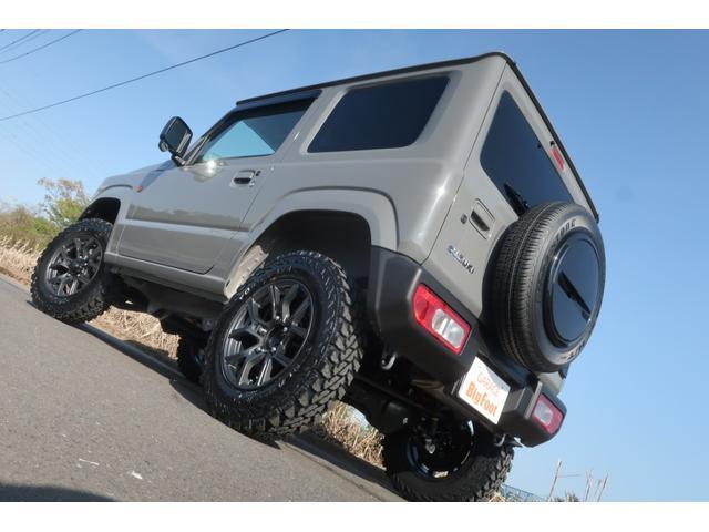 XL 4WD 届出済未使用車 1.5インチリフトアップ 社外新品16インチアルミ 新品ジオランダーMTタイヤ 社外フロントグリル 衝突軽減ブレーキ レーンアシスト ダウンヒルアシスト 衝突安全ボディー(6枚目)